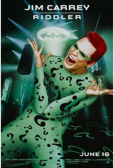 Batman Forever (1995) 50 x 70 Poster