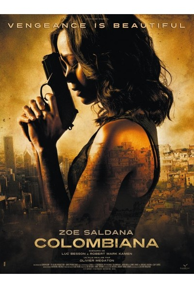 Colombiana (2011) 50 x 70 Poster