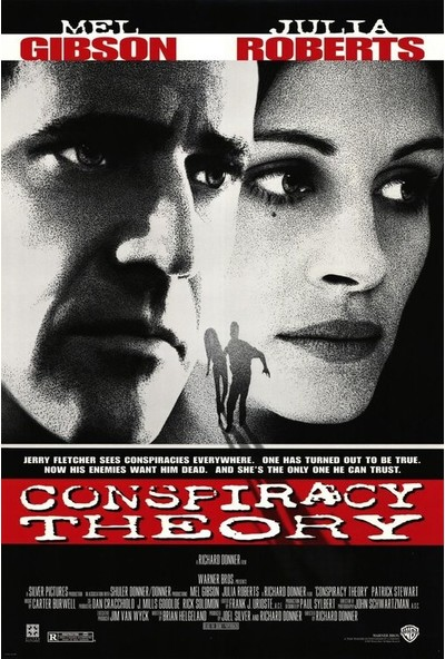 Conspiracy Theory (1997) 50 x 70 Poster