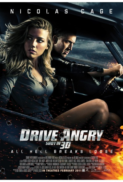 Drive Angry (2011) 50 x 70 Poster