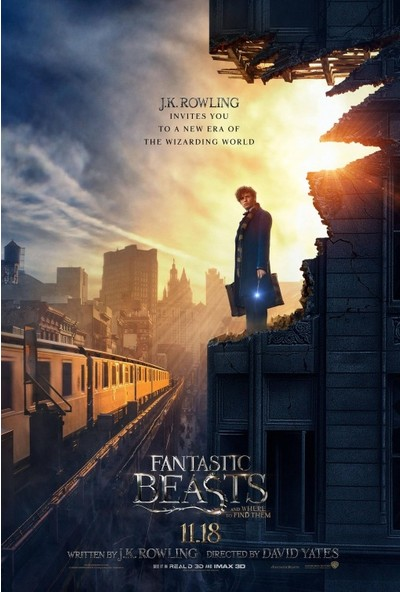Fantastic Beasts and Where to Find Them (2016) 50 x 70 Poster