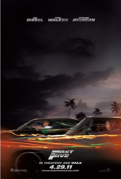Fast Five (2011) 50 x 70 Poster