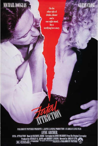 Fatal Attraction (1987) 50 x 70 Poster