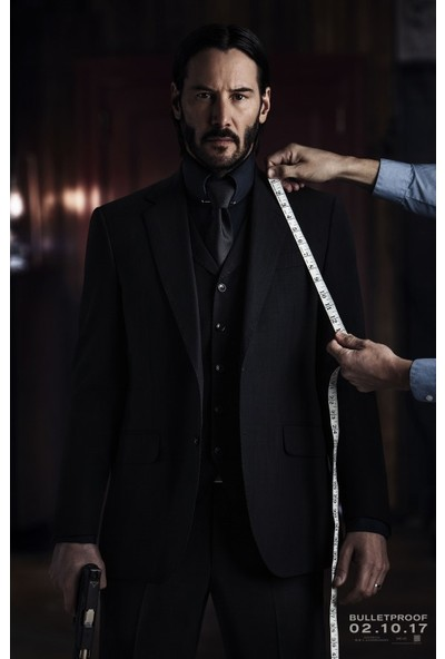 John Wick Chapter Two (2017) 50 x 70 Poster