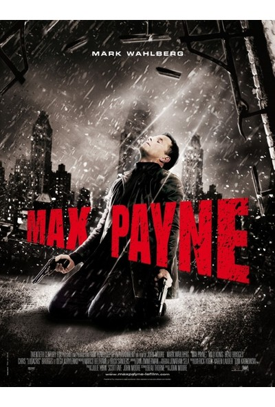 Max Payne (2008) 50 x 70 Poster