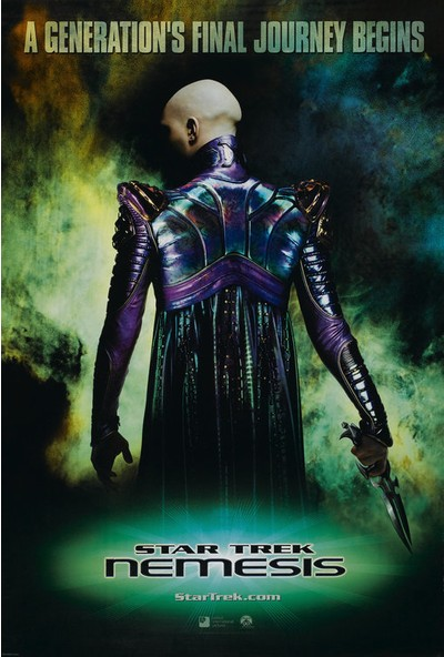 Star Trek Nemesis (2002) 50 x 70 Poster