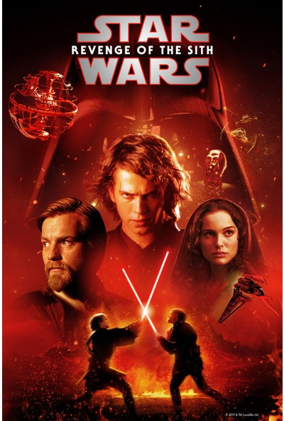 Star Wars Episode III - Revenge of the Sith (2005) 50 x 70 Poster