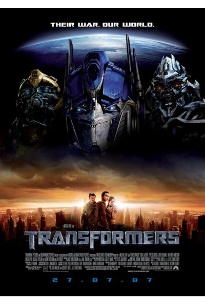 Transformers (2007) 50 x 70 Poster