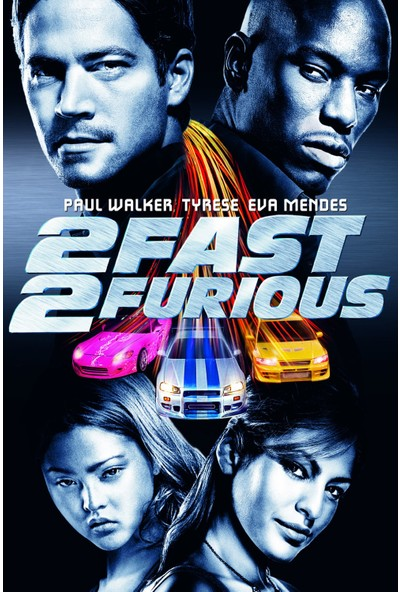 4 Fast 2 Furious (2003) 35 x 50 Poster