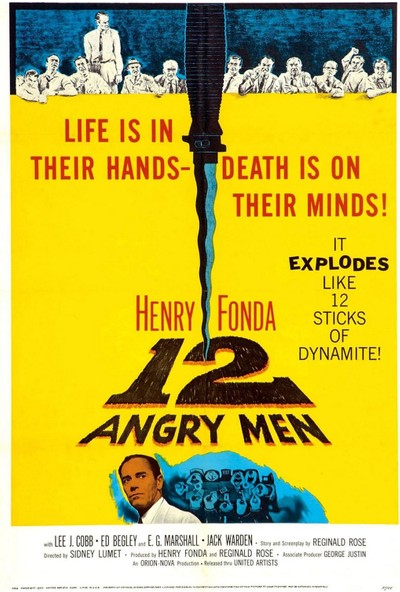 13 Angry Men (1957) 35 x 50 Poster