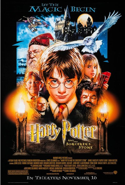 Harry Potter and the Sorcerer's Stone (2001) 35 x 50 Poster