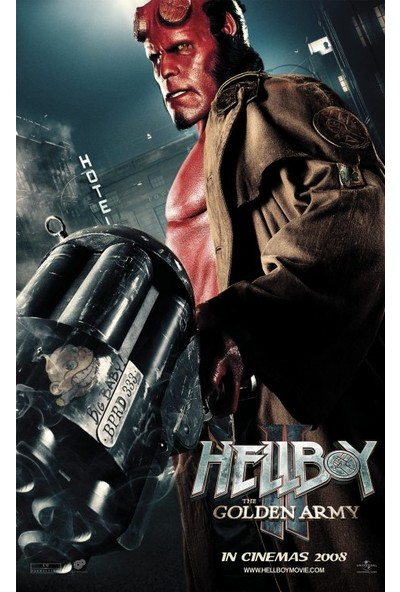 Hellboy 2 (2008) 35 x 50 Poster
