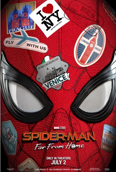 Spider-Man Far From Home (2019) 35 x 50 Poster