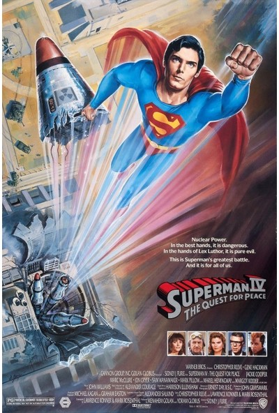 Superman IV The Quest for Peace (1987) 35 x 50 Poster