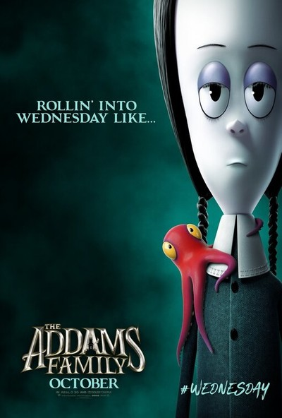 The Addams Family (2019) 35 x 50 Poster