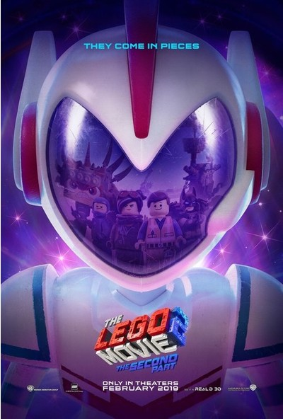 The Lego Movie 2 The Second Part (2019) 35 x 50 Poster