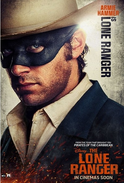 The Lone Ranger (2013) 35 x 50 Poster