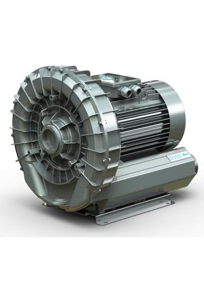 Tmm Blower Hava Motoru 0.75 Kw Ej 4 Kb Trifaze 210 M3/h