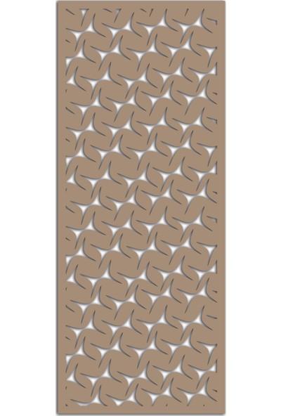 Liar Ahşap Seperatör (Paravan) - KSP-197 - (10 mm) - (69 cm x 139 cm) - (Ham)