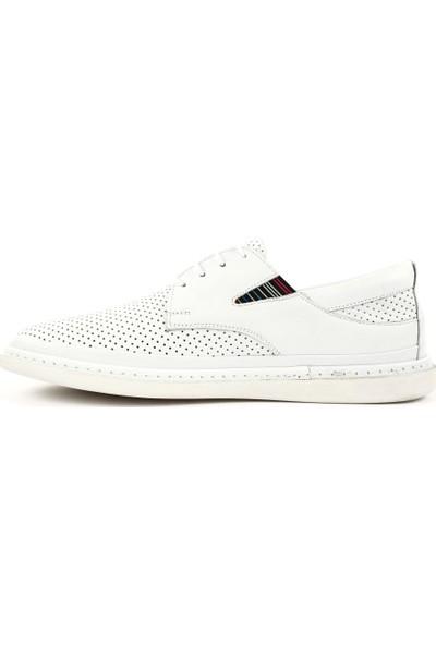 DGN 027-1 Erkek Lazerli Bağcıklı Günlük Ayakkabı 20Y