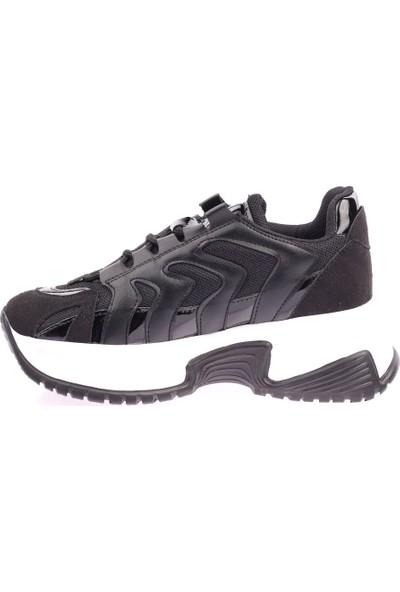 DGN 85-203 Kadın Yüksek Taban Sneakers Ayakkabı 20Y
