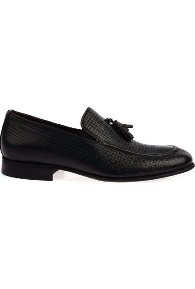 DGN 11265 Erkek Hasır Baskılı Püsküllü Jurdan Ayakkabı 20Y
