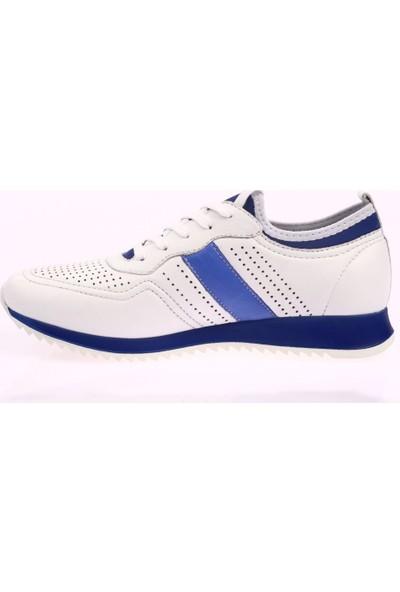DGN 2001 Erkek Lazerli Eva Taban Bağcıklı Sneakers Ayakkabı 20Y