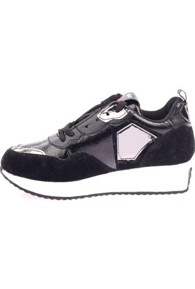 DGN 2005 Kadın Pullu Sneakers Ayakkabı 20Y