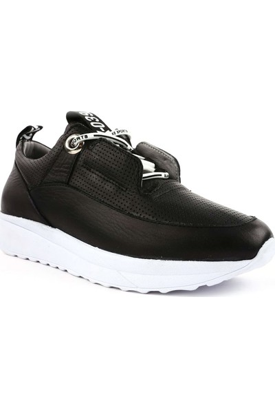 DGN 20354 Kadın Lazerli Bağcıklı Sneakers Ayakkabı 20Y