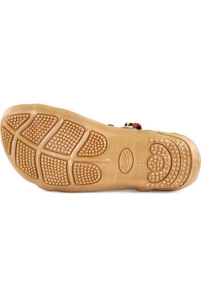 Guja 20Y153-1 Çocuk Boncuklu Sandalet