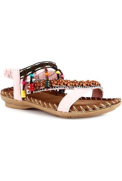 Guja 20Y154 Çocuk Boncuklu Sandalet