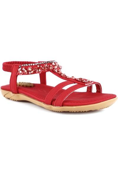 Guja 20Y235-5 Çocuk Taşlı Sandalet