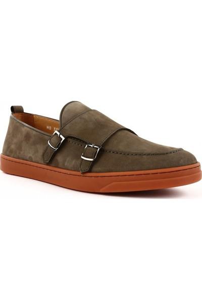 DGN 3357 Erkek Çift Tokalı Kauçuk Taban Ayakkabı 20Y