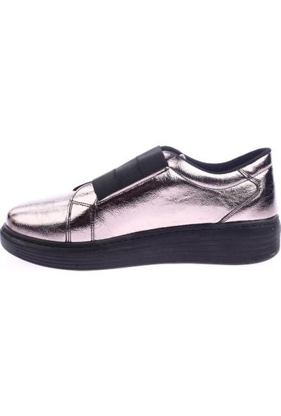 DGN 398 Kadın Üstü 3 Lastik Bant Sneakers Ayakkabı 20Y
