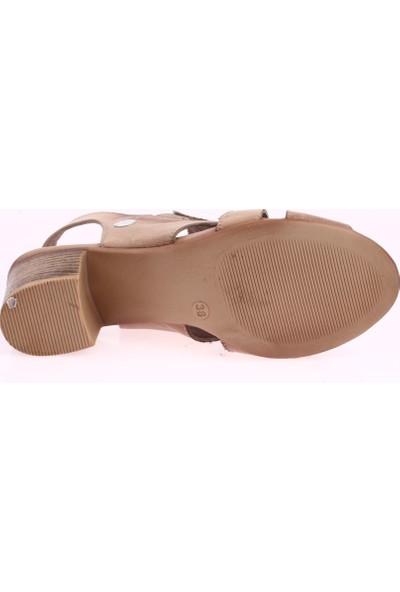 Mamma Mia D20Ys-1045 Kadın Sandalet Ayakkabı 20Y