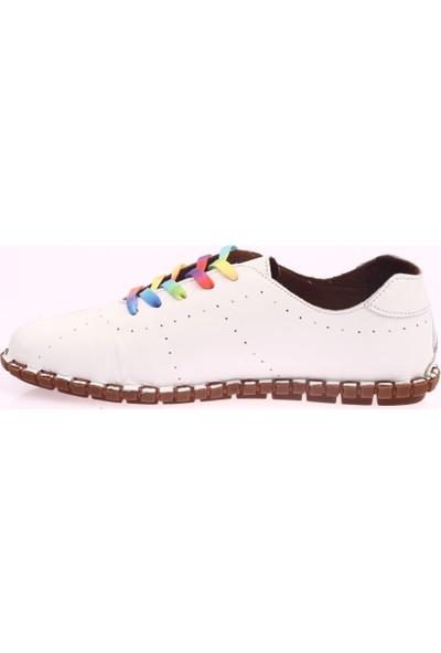 Messimod H20Y2902 Kadın Bağcıkcı Soft Çarık Ayakkabı 20Y