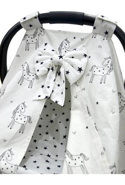 Bera Baby Unicorn Özel Model Puset Örtüsü + Çarşafı