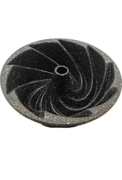 Thermo Ad 24 cm Döküm Kek Kalıbı Gri