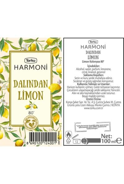 Torku Harmoni Dalından Limon 100 ml