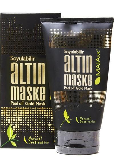 Maia Mc Soyulabilir Altın Maske 150 ml