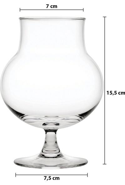 Paşabahçe 440327 Tombik 6 Kişilik Ayaklı Meşrubat/tatlı Bardağı