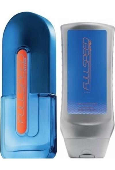 Avon Full Speed Nitro Erkek Edt 75 ml + Saç ve Vücut Şampuanı 250 ml