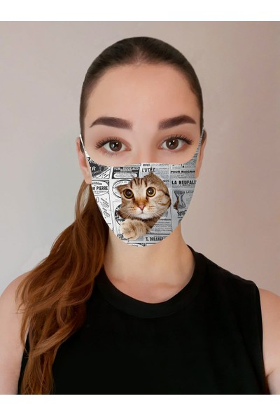 Art Face Aksesuar Yüz Maskesi Art-H-07