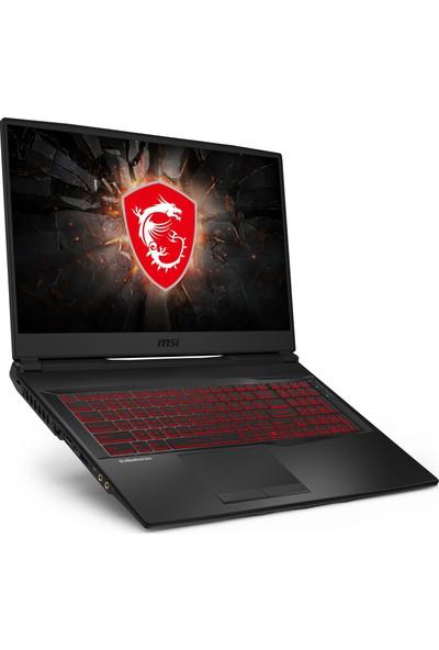 """MSI GL75 Leopard 10SDR-258TR Intel Core i7 10750H 1TB + 256GB SSD GTX1660 Ti Windows 10 Home 17.3"""" FHD Taşınabilir Bilgisayar"""
