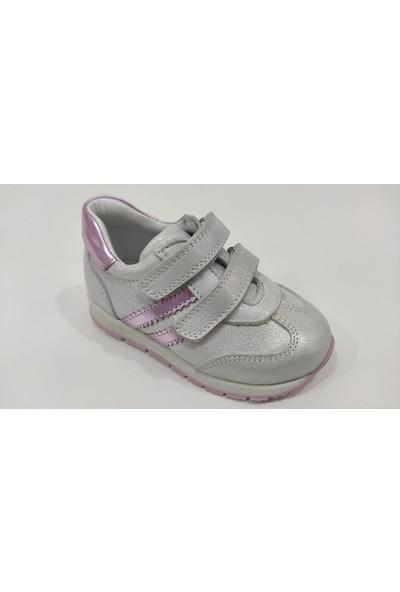Teo Bebe Spor Deri Kız Çocuk Ayakkabı