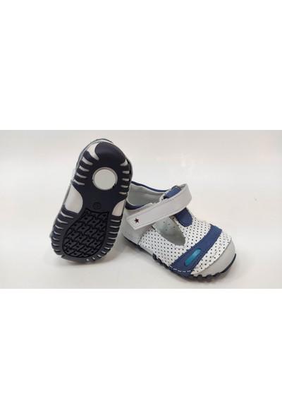 Teo Bebe İlk Adım Deri Erkek Bebek Ayakkabısı