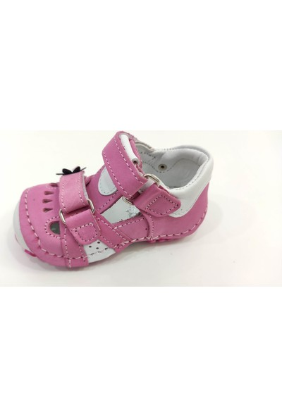 Teo Bebe İlk Adım Deri Kız Bebek Ayakkabısı