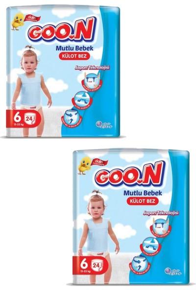 Goon Mutlu Bebek Külot Bezi 6 Beden 2'lü 42 Paket