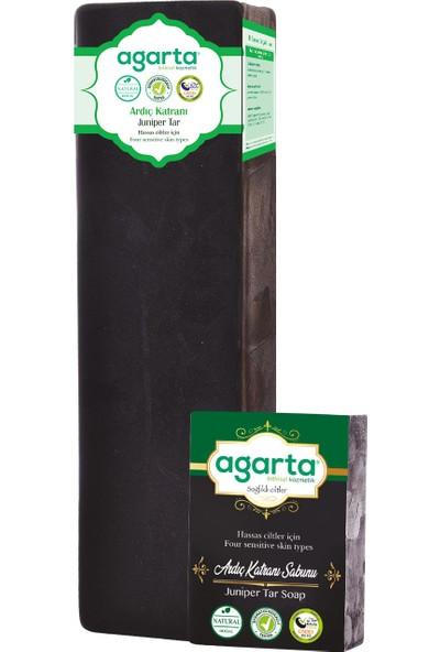 Agarta Doğal El Yapımı Ardıç Katranı Sabunu 1400 gr
