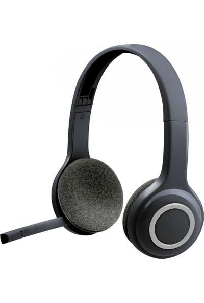 Logitech H600 Kablosuz Kulaklık-Siyah